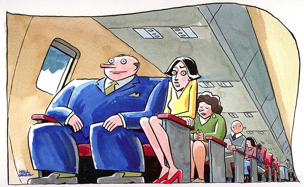 Cartoon Full Flight