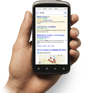 Mobile Serps