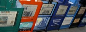 Newspaper machines