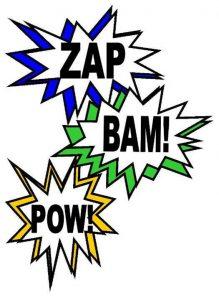 superhero-action-words
