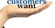 What Customers want