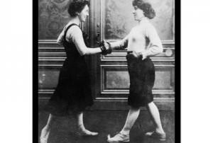 1912 Women Boxing