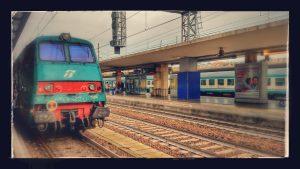 Train in Rome