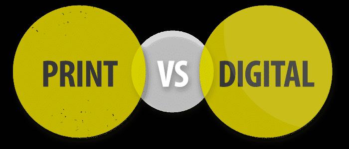 Print Versus Digital