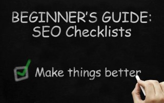 Banner: Beginner's Guide to SEO Checklists - Making things better