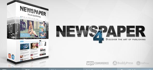 Newspaper WP Theme