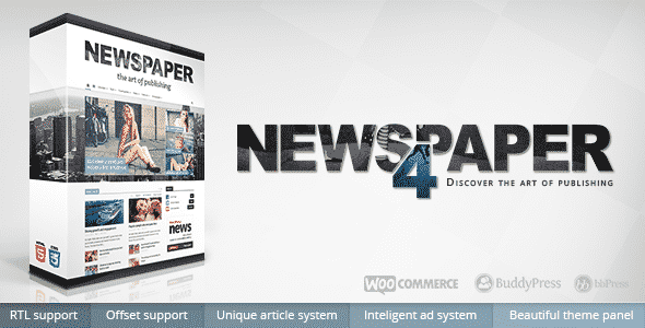 Newspaper Premium Magazine WordPress