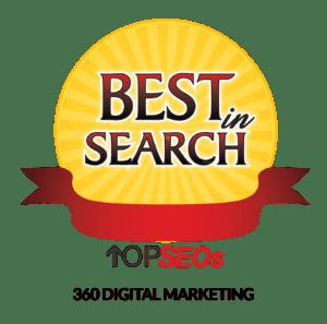 best in search: 360 digital marketing