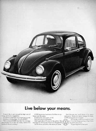 1968 Beetle Ad