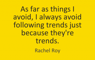 Avoid Trends