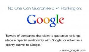 Google Ranking Lie Image