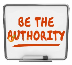 Be the authority spelled out