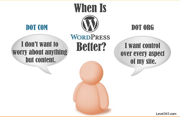 WordPress.com vs WordPress.org - What's the Difference?