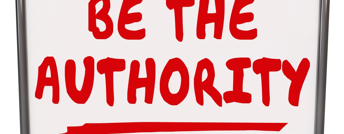 Be the Authority Words Dry Erase Board Expertise Knowledge