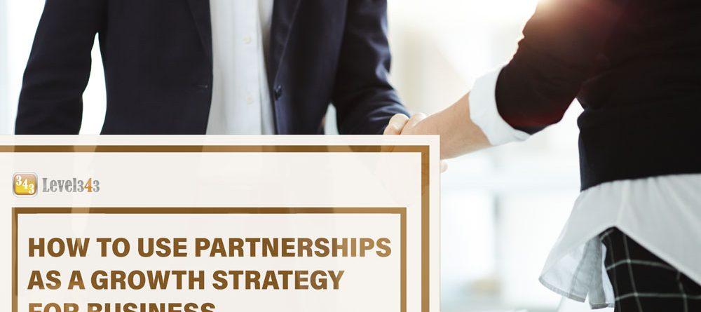 Business Growth Strategy #43: Partnerships   Level343 LLC