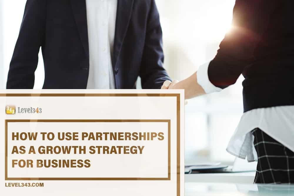 Business Growth Strategy #43: Partnerships | Level343 LLC