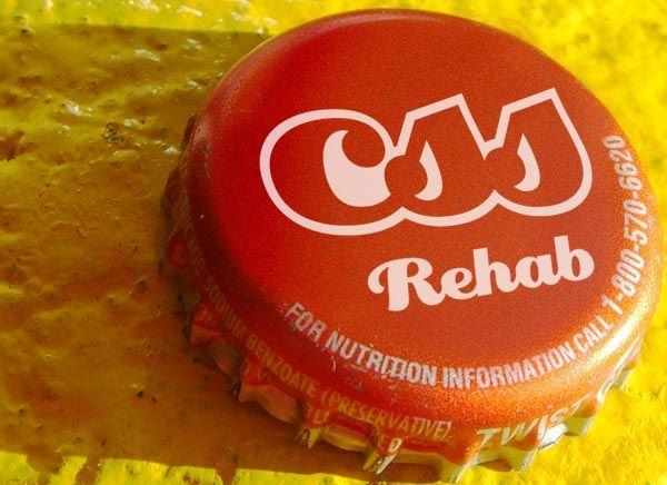 CSS cap