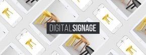 Merging digital marketing methods: digital sign system and online marketing