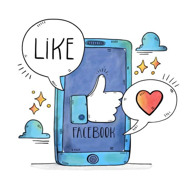 Like Facebook on a Mobile