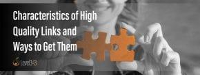 characteristics of high quality links | Level343, LLC