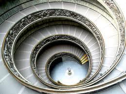 Spiraling Staircase Image