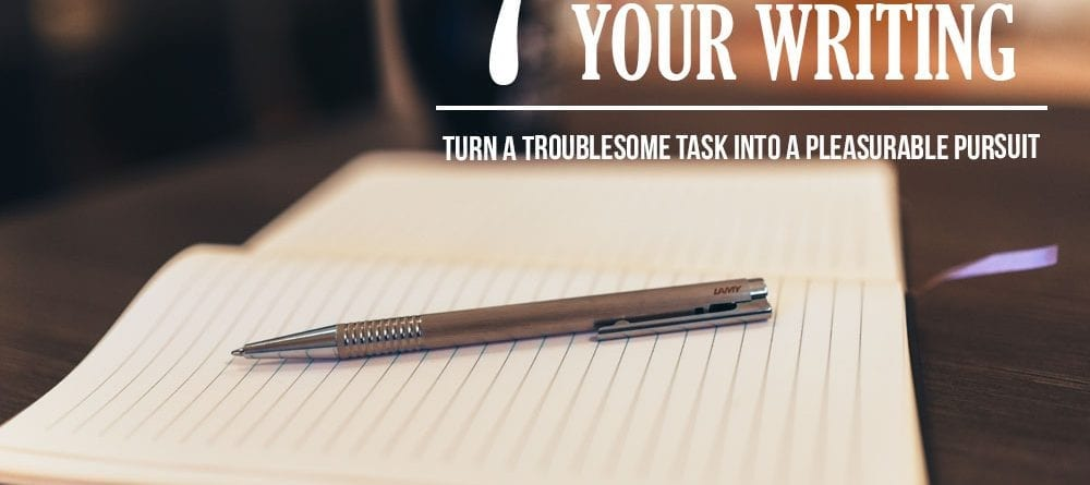 paper and pen to improve your writing skills