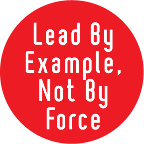 Lead by Example image