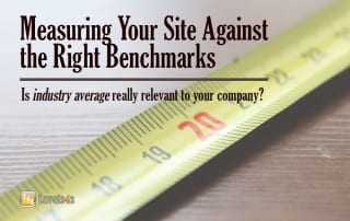 Measuring your Site Against the Right Benchmarks: Level343 International Online Marketing blog post