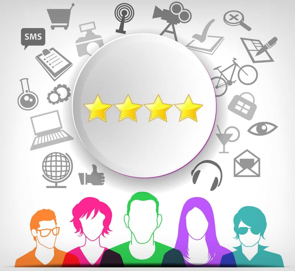 customer feedback and ratings