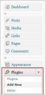 Wordpress Plugins Navigation