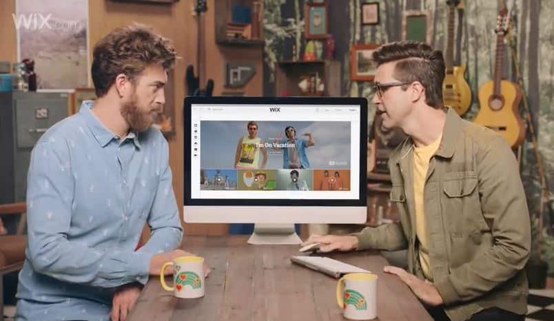 Rhett & Link WIX commercial
