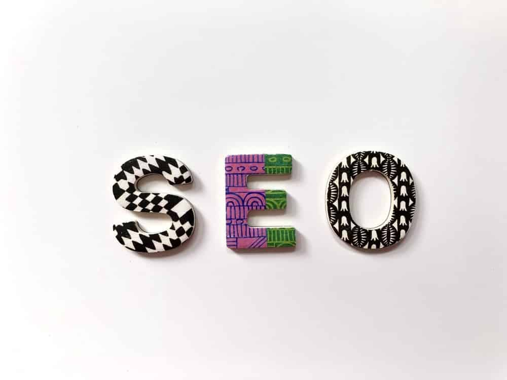SEO spelled out