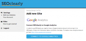 Add New Site SEO clearly