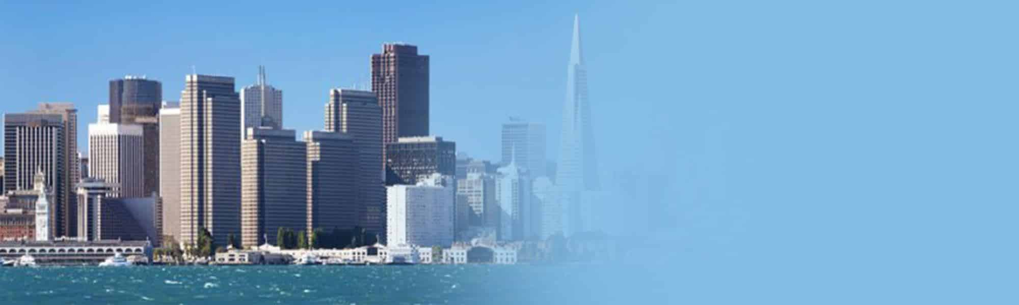 Image of San Francisco's skyline, representing international SEO