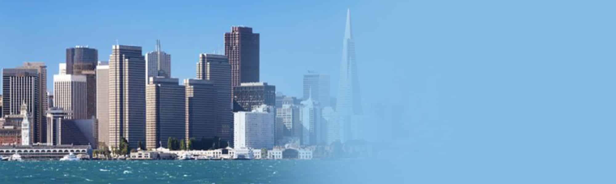 Image of San Francisco's skyline, representing international SEO