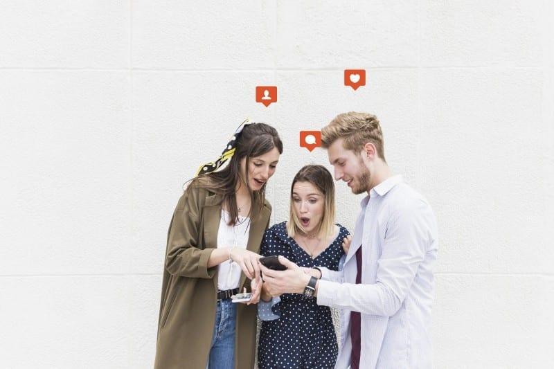 Millennials Socializing image