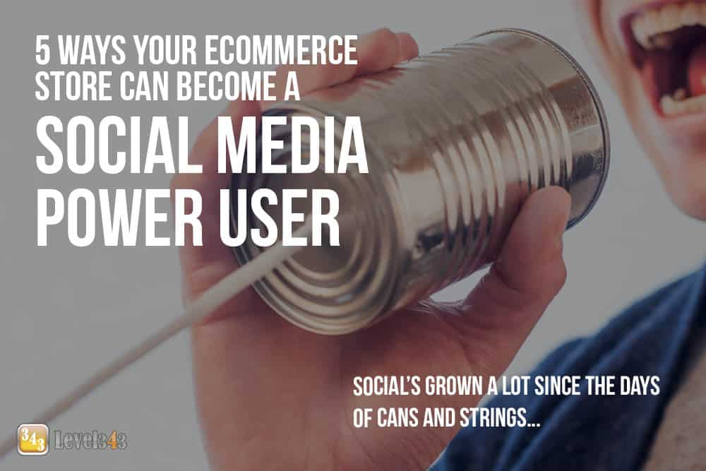 Social media marketing: Not yelling in a can to see if they can hear you now.