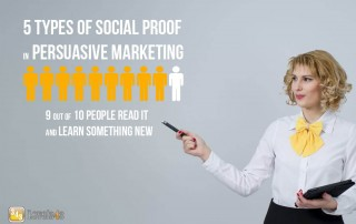 5 Social Proof Types