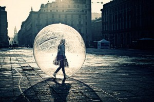 Living in a bubble Image