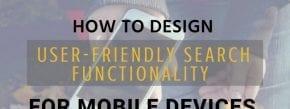 User Friendly Search Design