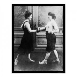 1912 Women Boxing